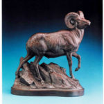 2016_Ullberg_009_High Ridge (Bighorn Ram maquette)