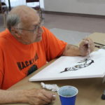 Mike Korte at Joy of Painting Class