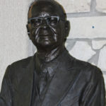 3 Bronze Bust of Dane Hansen by Omer Knoll