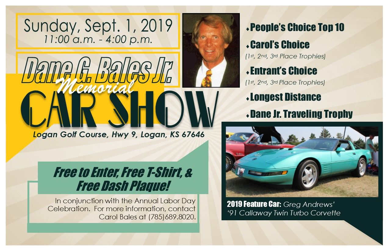 2019 Dane G. Bales Jr. Memorial Car Show