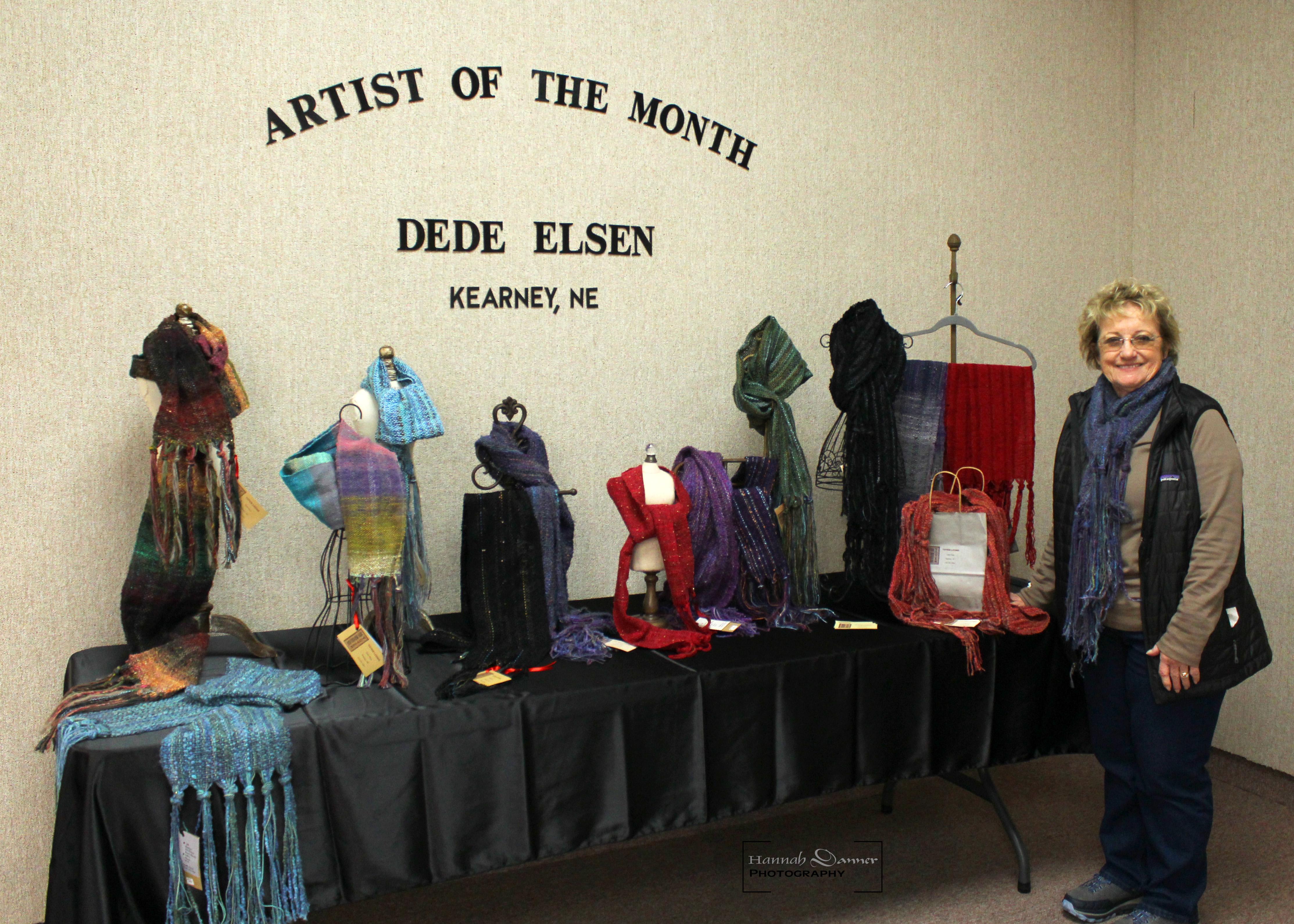 January Artist of the Month - Dede Elsen