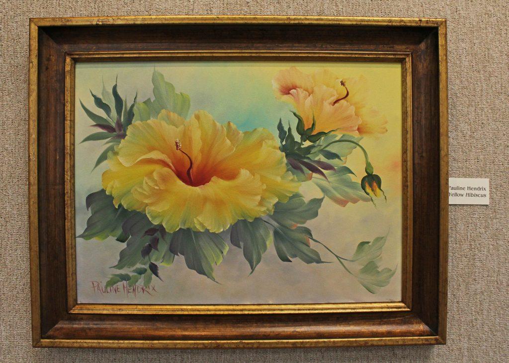 Yellow Hibiscus by Pauline Hendrix
