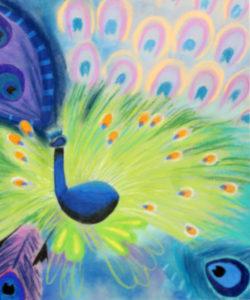 """""""Peacokc"""" by Julian Coker Trego Community High"""