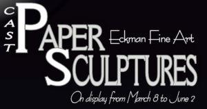 Cast Paper Sculptures by Eckman Fine Art